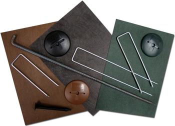 数種類の固定部材