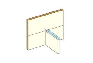 ストレッチガード®立ち上げ部へタイベック®を覆い被せるように施工して完了です。